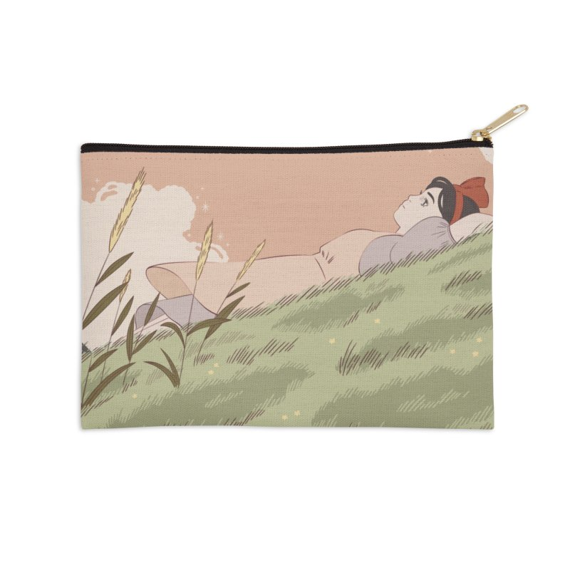 Kiki's Delivery Service Accessories Zip Pouch by Marta Barrales Illustration