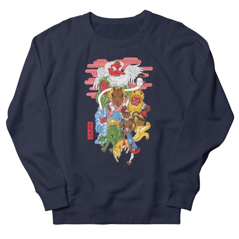 Monster Parade Men's Sweatshirt by maarika's Artist Shop