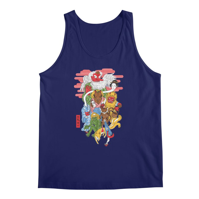 Monster Parade Men's Tank by maarika's Artist Shop