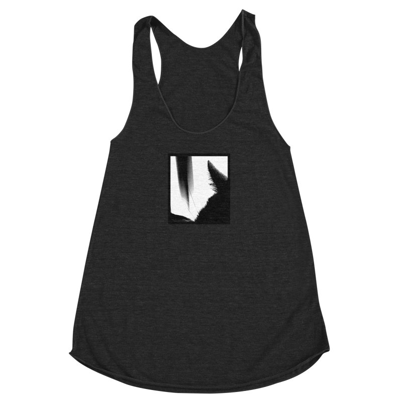 catscan Women's Racerback Triblend Tank by Maat Haas: The Shop