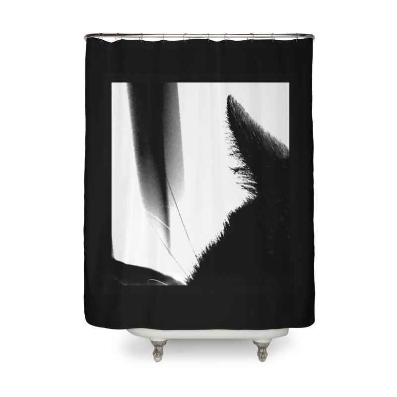 catscan Home Shower Curtain by Maat Haas: The Shop