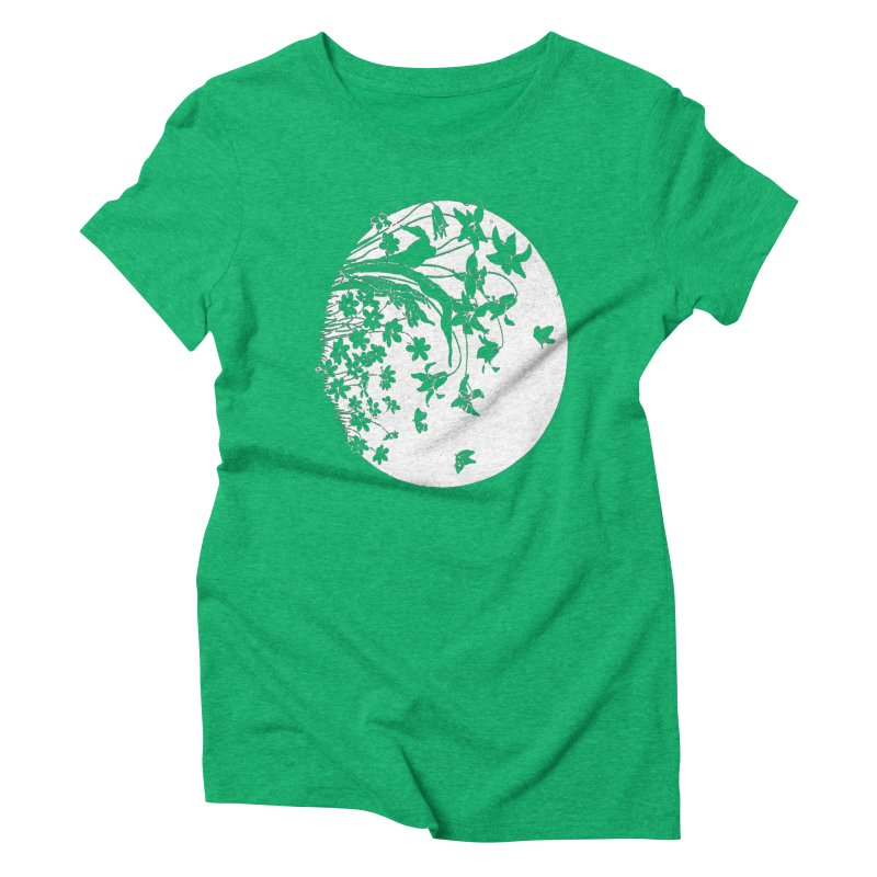 fleurs Women's Triblend T-shirt by Maat Haas: The Shop