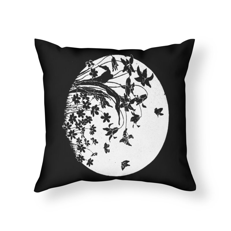 fleurs Home Throw Pillow by Maat Haas: The Shop