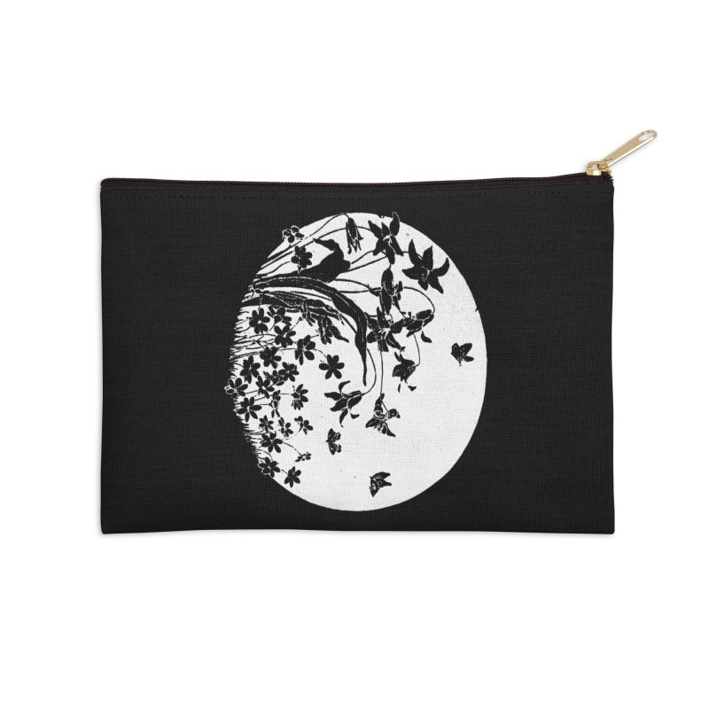 fleurs Accessories Zip Pouch by Maat Haas: The Shop