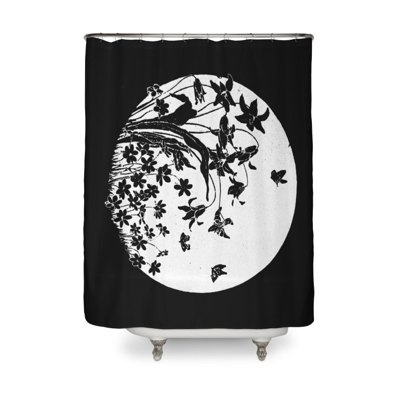 fleurs Home Shower Curtain by Maat Haas: The Shop