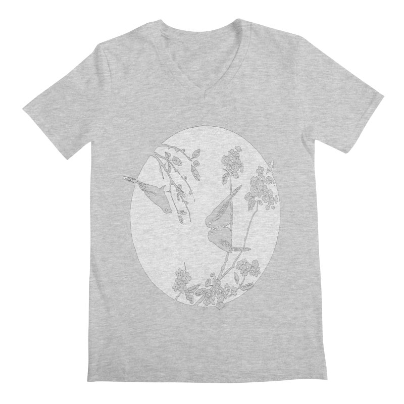 sidebird Men's V-Neck by Maat Haas: The Shop