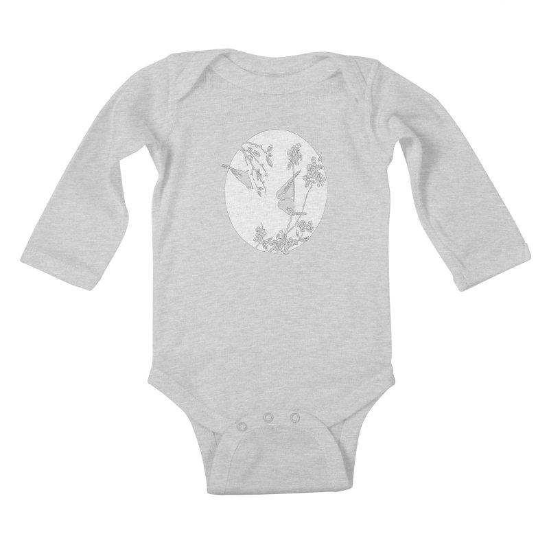 sidebird Kids Baby Longsleeve Bodysuit by Maat Haas: The Shop