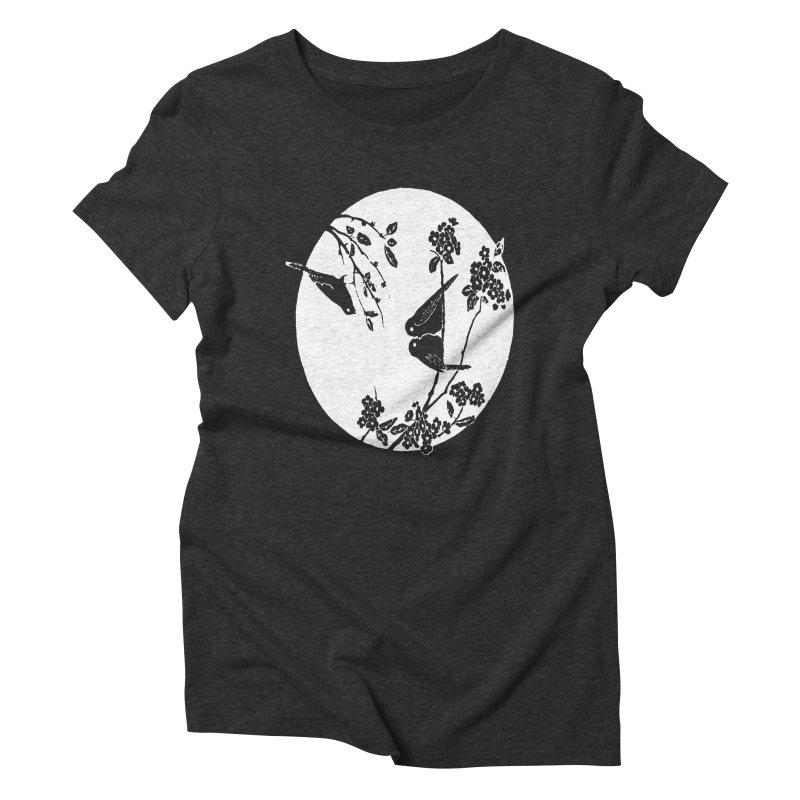 sidebird Women's Triblend T-shirt by Maat Haas: The Shop