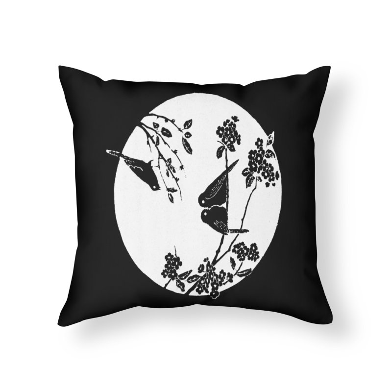 sidebird Home Throw Pillow by Maat Haas: The Shop