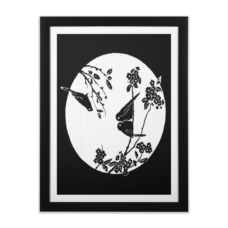 sidebird Home Framed Fine Art Print by Maat Haas: The Shop