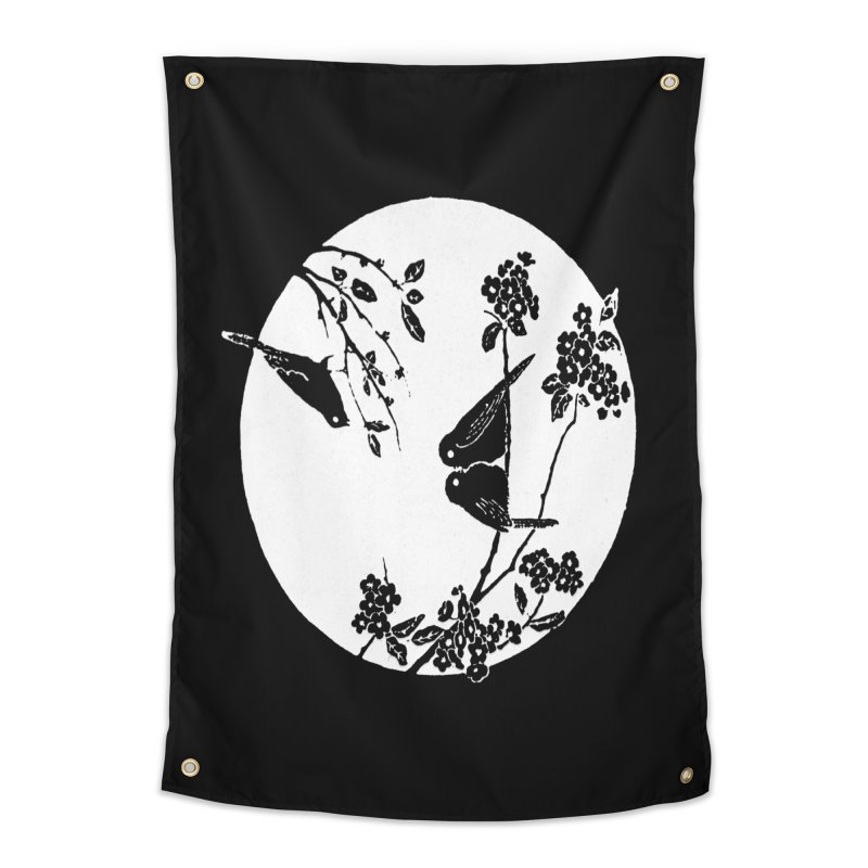 sidebird Home Tapestry by Maat Haas: The Shop