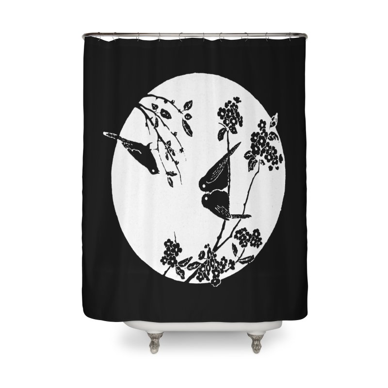 sidebird Home Shower Curtain by Maat Haas: The Shop