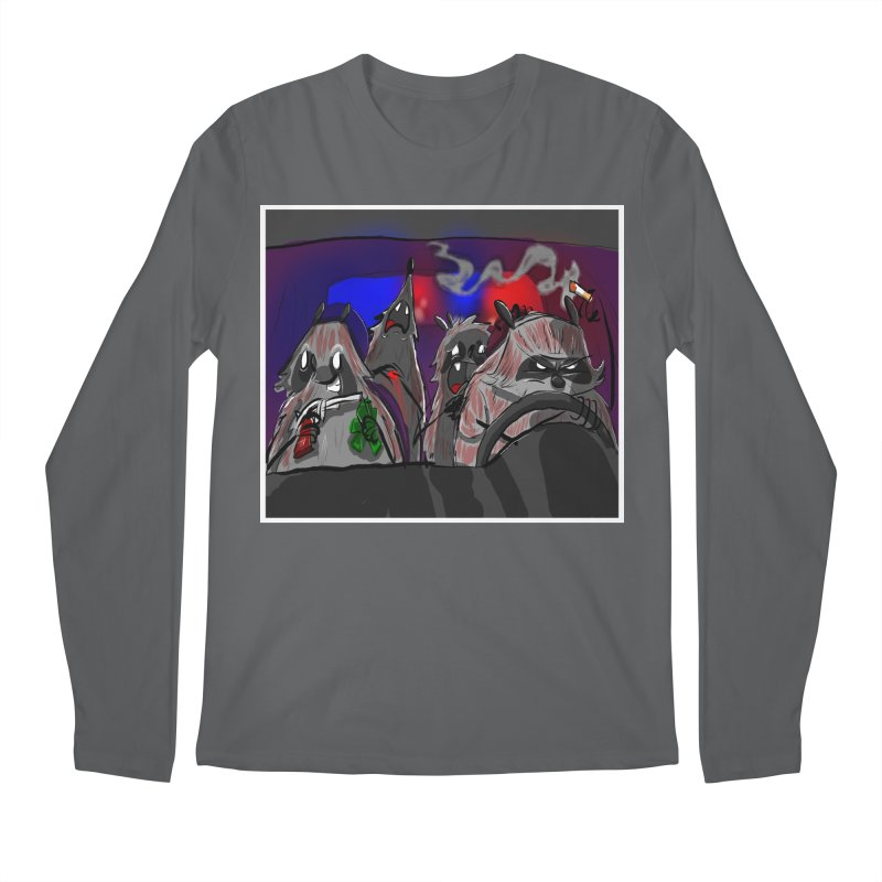 raccoon wedding Men's Longsleeve T-Shirt by Maat Haas: The Shop