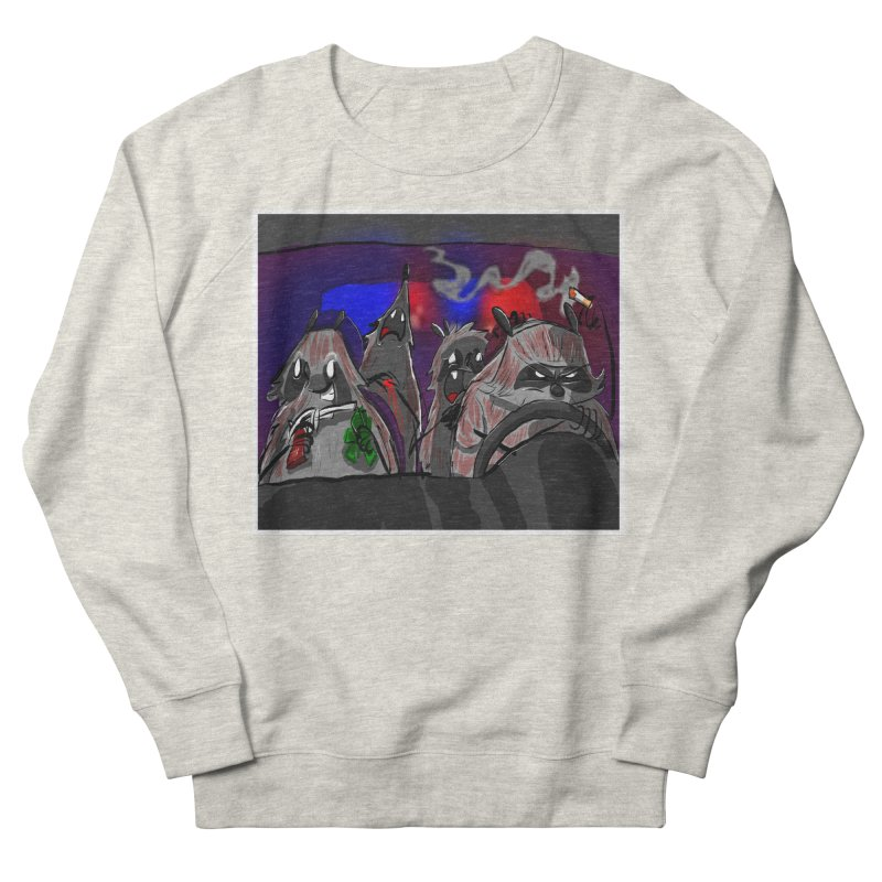 raccoon wedding Men's Sweatshirt by Maat Haas: The Shop