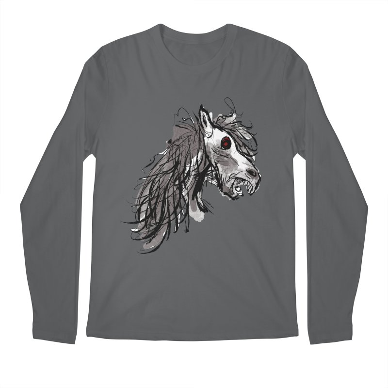 horse Men's Longsleeve T-Shirt by Maat Haas: The Shop