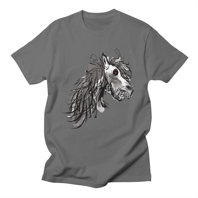 horse Men's T-shirt by Maat Haas: The Shop
