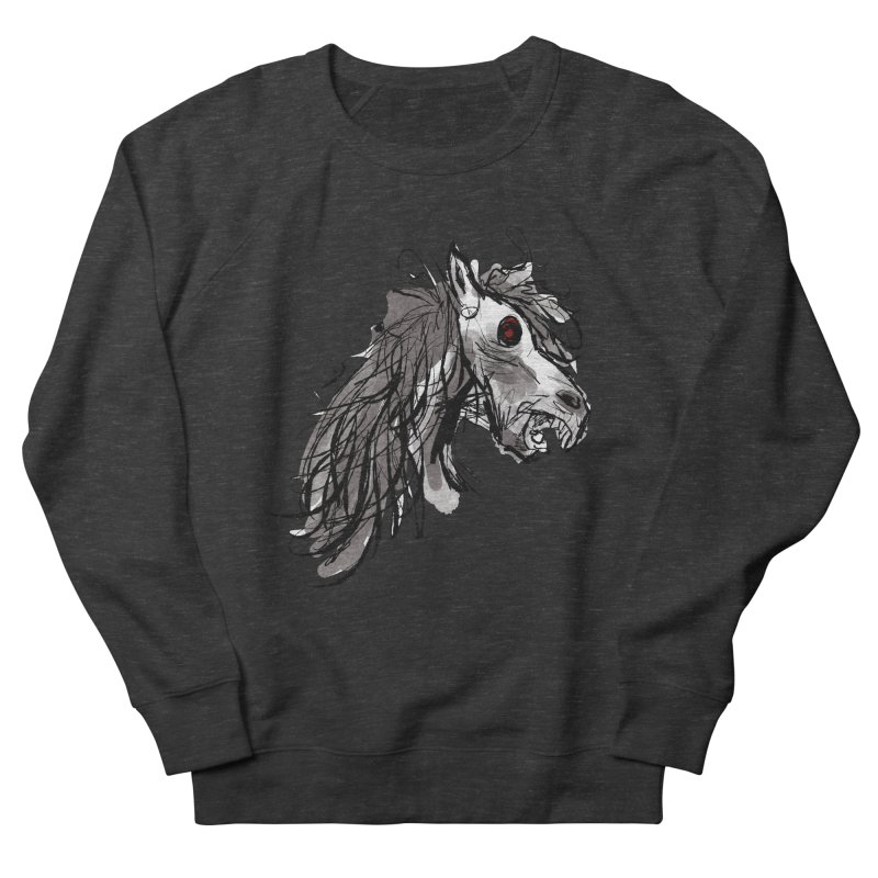 horse Men's Sweatshirt by Maat Haas: The Shop