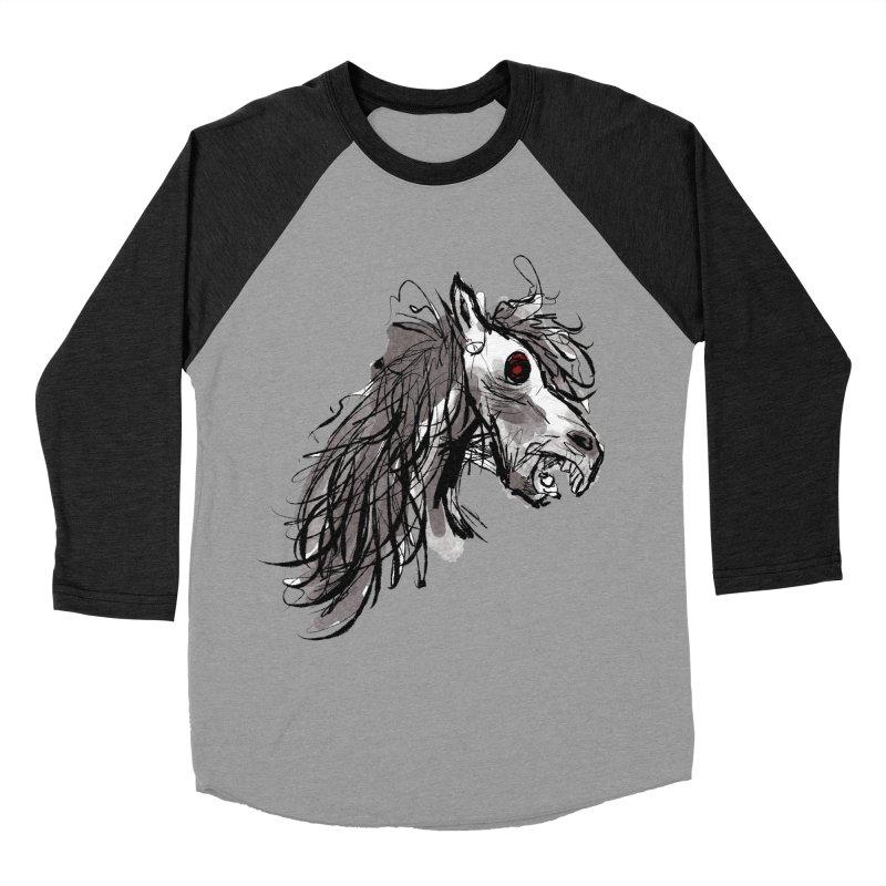 horse Women's Baseball Triblend T-Shirt by Maat Haas: The Shop