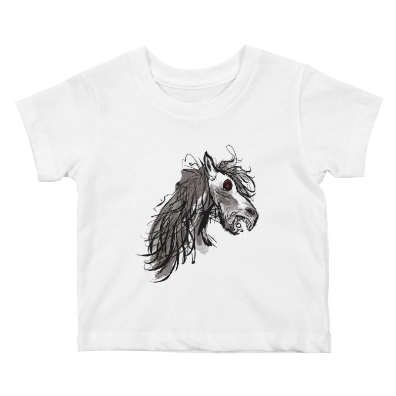 horse Kids Baby T-Shirt by Maat Haas: The Shop