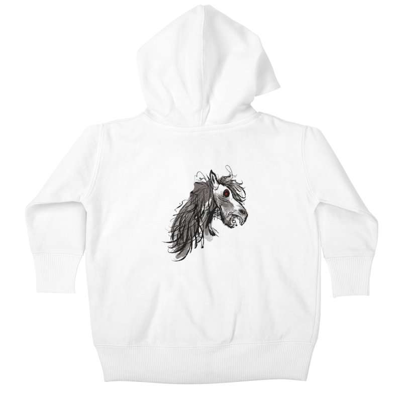 horse Kids Baby Zip-Up Hoody by Maat Haas: The Shop