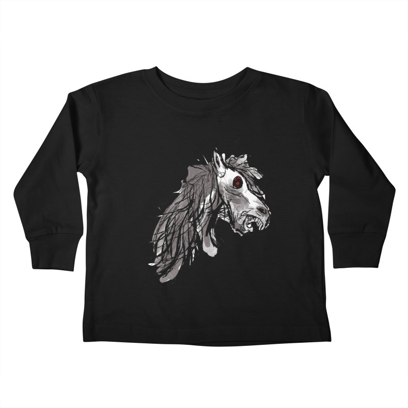 horse Kids Toddler Longsleeve T-Shirt by Maat Haas: The Shop