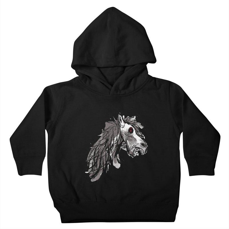 horse Kids Toddler Pullover Hoody by Maat Haas: The Shop