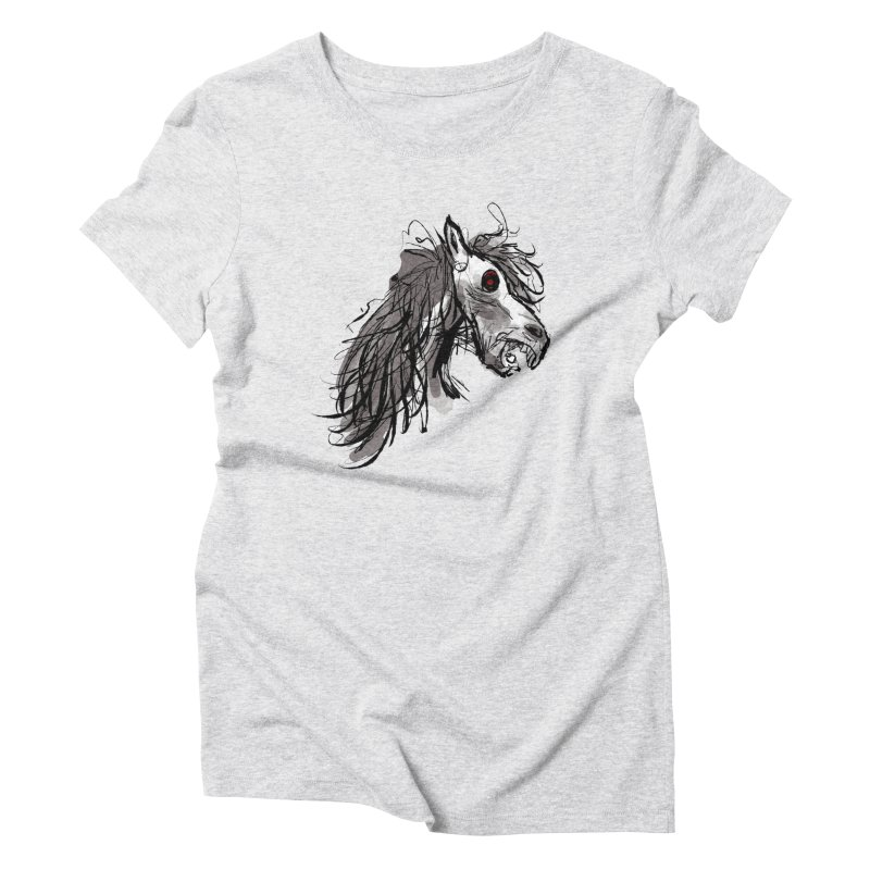 horse Women's Triblend T-shirt by Maat Haas: The Shop