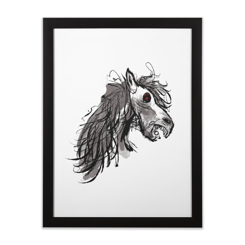 horse Home Framed Fine Art Print by Maat Haas: The Shop