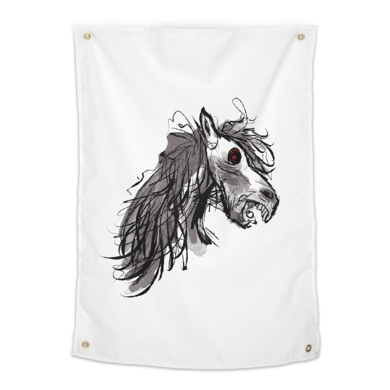 horse Home Tapestry by Maat Haas: The Shop
