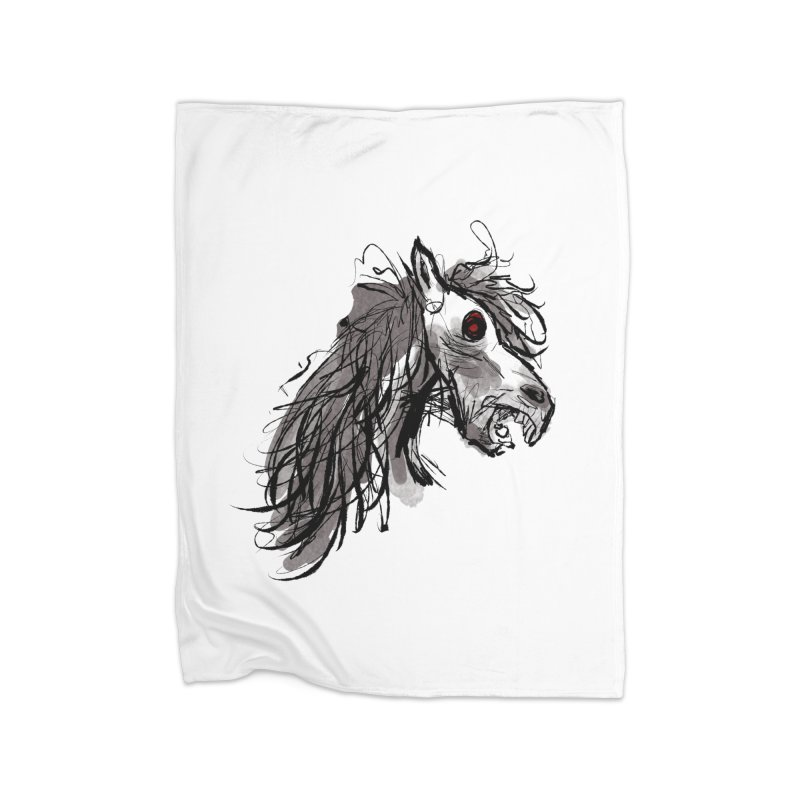 horse Home Blanket by Maat Haas: The Shop