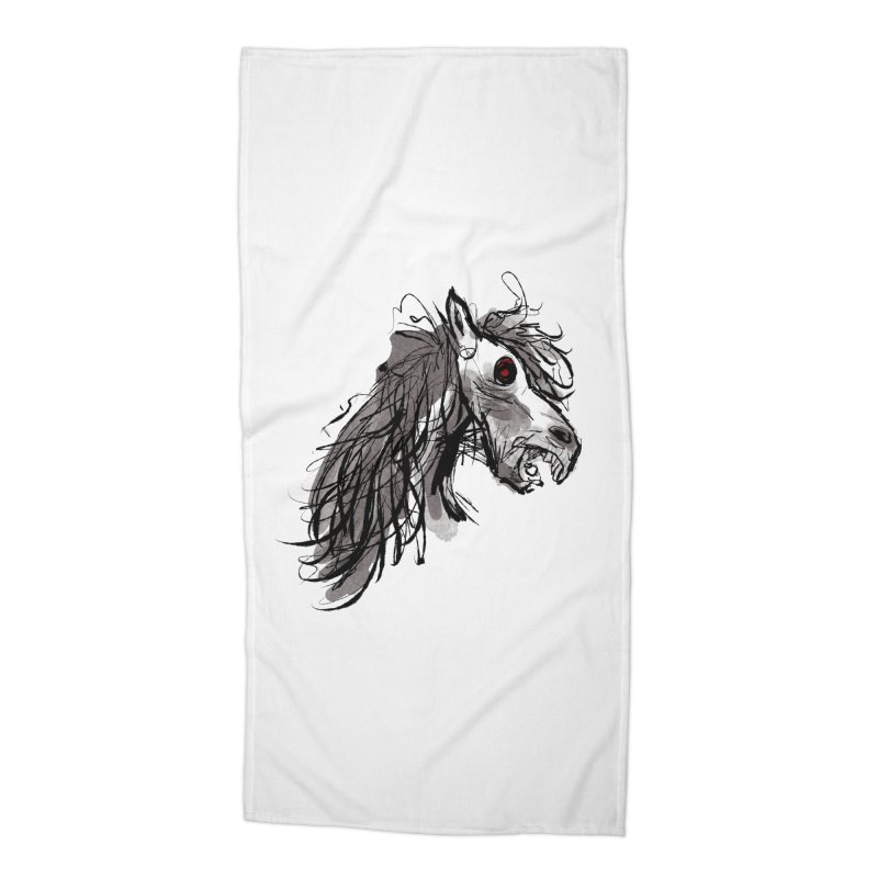 horse Accessories Beach Towel by Maat Haas: The Shop