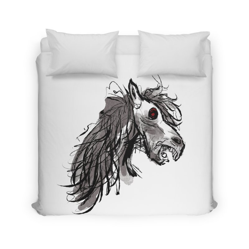 horse Home Duvet by Maat Haas: The Shop