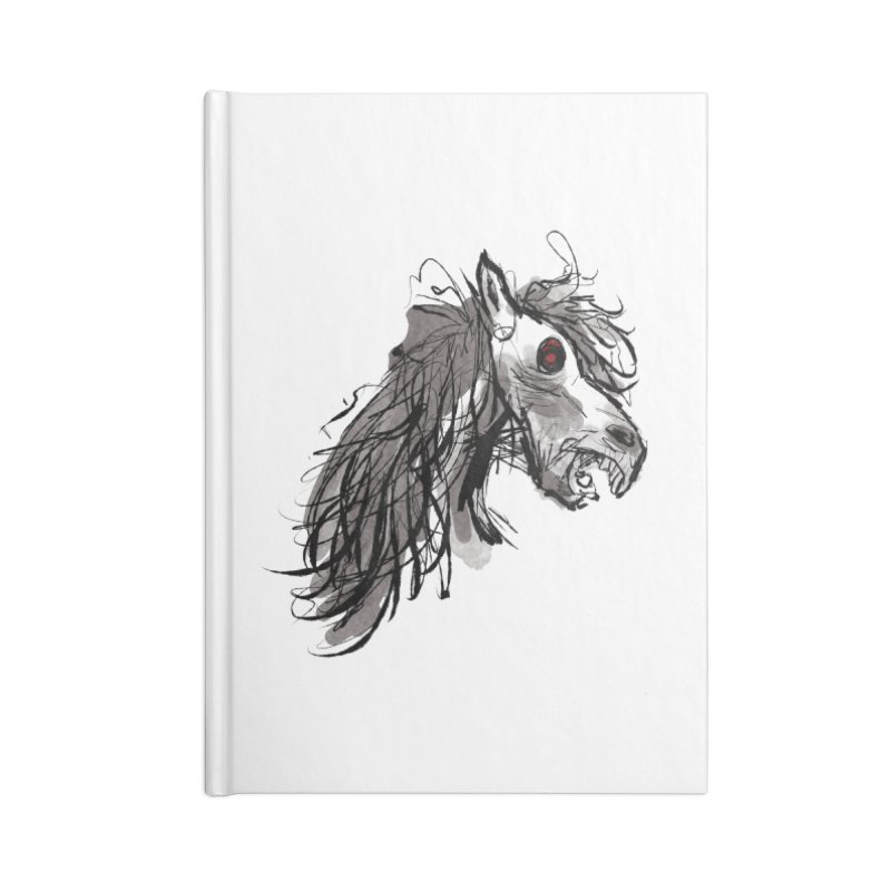 horse Accessories Notebook by Maat Haas: The Shop