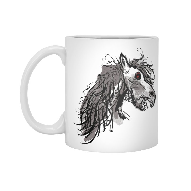 horse Accessories Mug by Maat Haas: The Shop