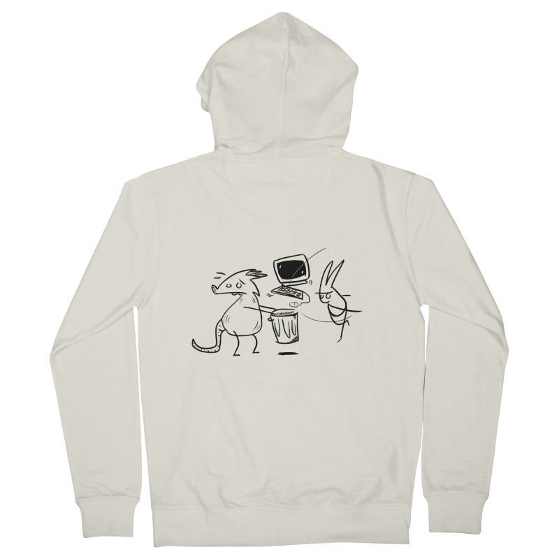 a place for our mistakes Women's French Terry Zip-Up Hoody by Maat Haas: The Shop