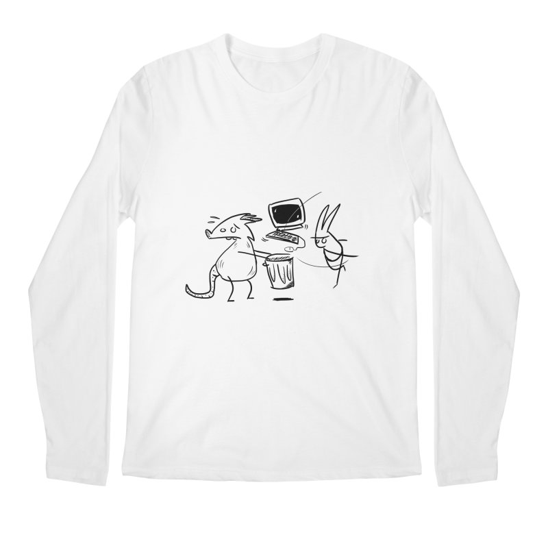 a place for our mistakes Men's Regular Longsleeve T-Shirt by Maat Haas: The Shop