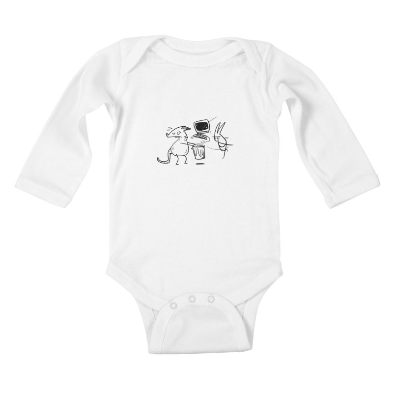 a place for our mistakes Kids Baby Longsleeve Bodysuit by Maat Haas: The Shop