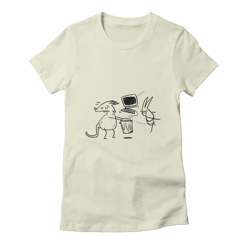 a place for our mistakes Women's Fitted T-Shirt by Maat Haas: The Shop