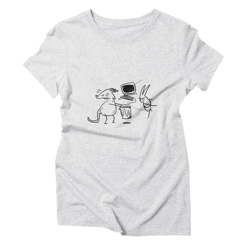 a place for our mistakes Women's Triblend T-Shirt by Maat Haas: The Shop