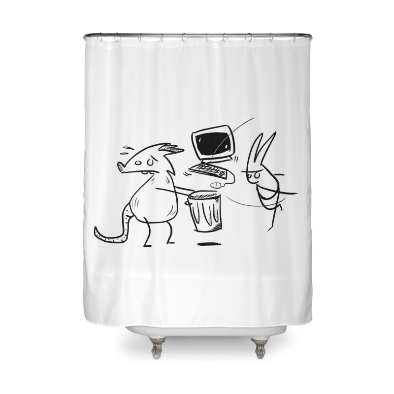 a place for our mistakes Home Shower Curtain by Maat Haas: The Shop