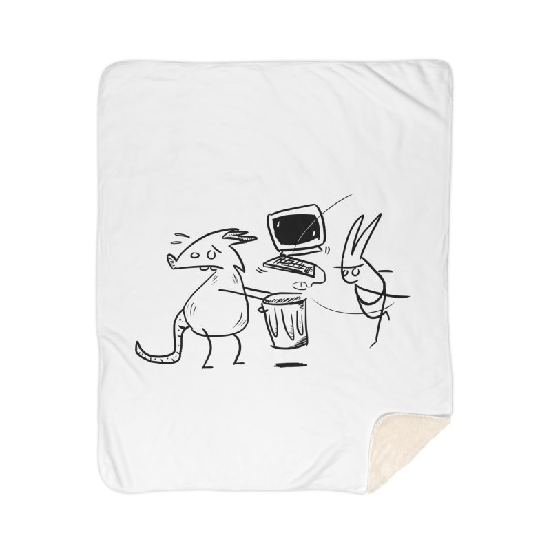 a place for our mistakes Home Sherpa Blanket Blanket by Maat Haas: The Shop