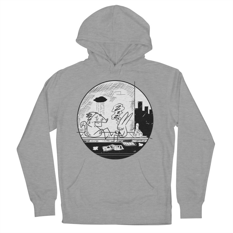 big city nights, big stupid dreams Women's French Terry Pullover Hoody by Maat Haas: The Shop