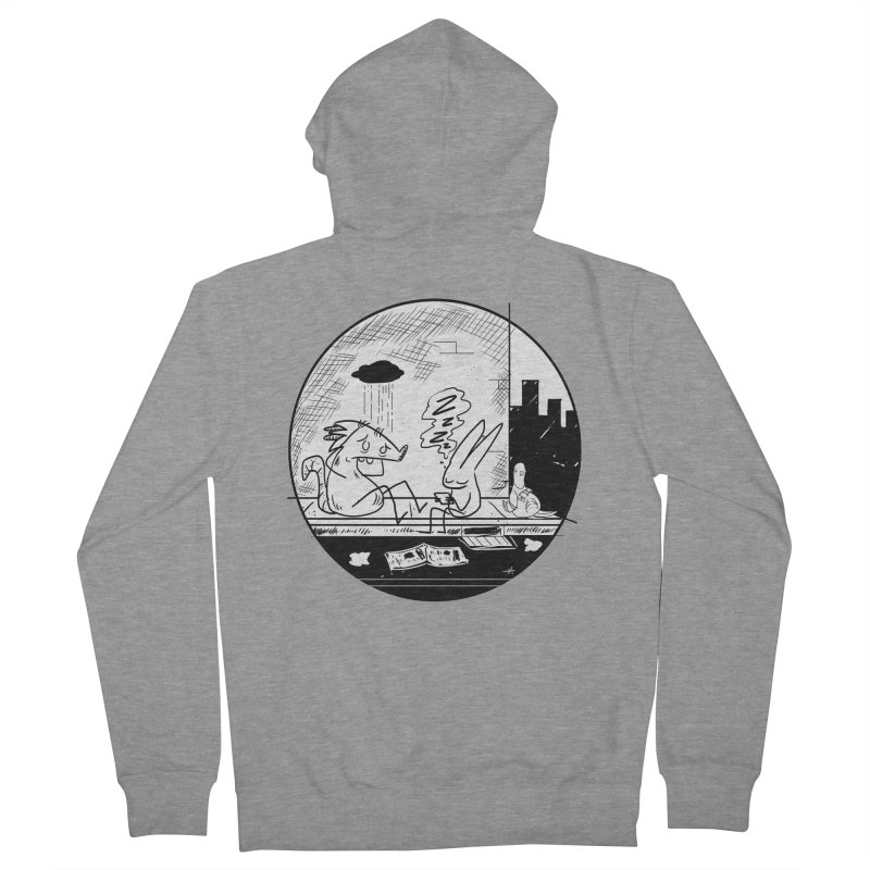 big city nights, big stupid dreams Men's French Terry Zip-Up Hoody by Maat Haas: The Shop