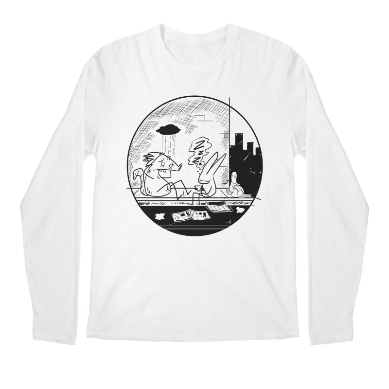big city nights, big stupid dreams Men's Regular Longsleeve T-Shirt by Maat Haas: The Shop
