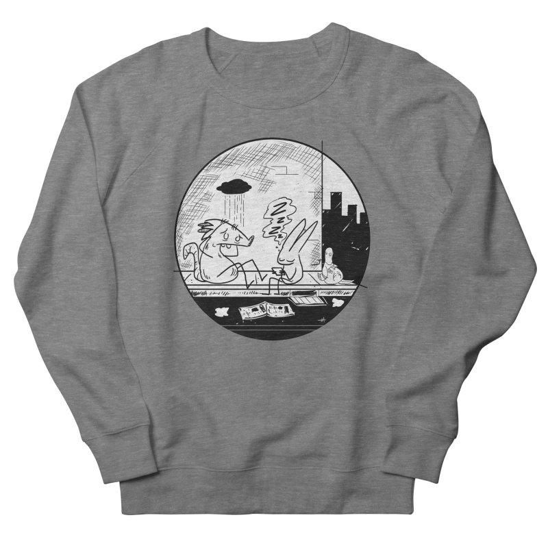 big city nights, big stupid dreams Women's French Terry Sweatshirt by Maat Haas: The Shop