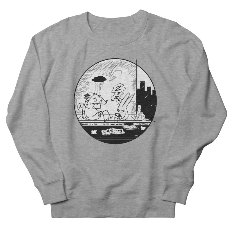 big city nights, big stupid dreams Women's French Terry Sweatshirt by Maat Haas: The Shop