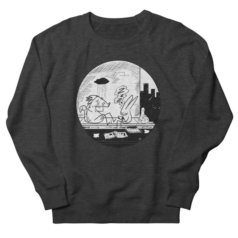big city nights, big stupid dreams Men's French Terry Sweatshirt by Maat Haas: The Shop