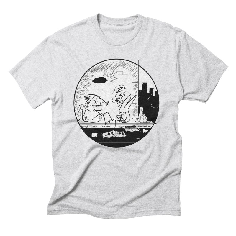 big city nights, big stupid dreams Men's Triblend T-shirt by Maat Haas: The Shop