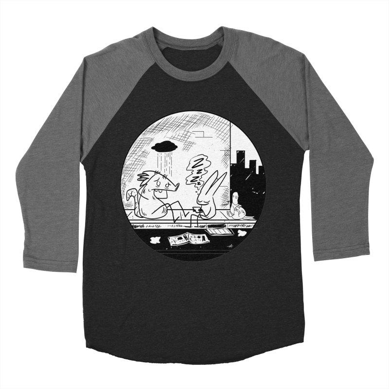 big city nights, big stupid dreams Women's Baseball Triblend T-Shirt by Maat Haas: The Shop
