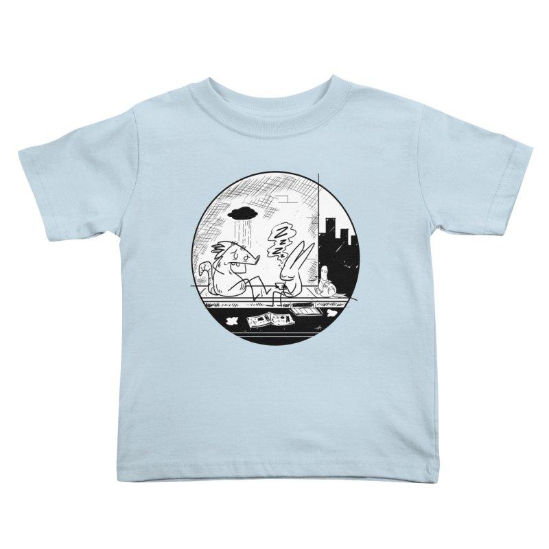 big city nights, big stupid dreams Kids Toddler T-Shirt by Maat Haas: The Shop